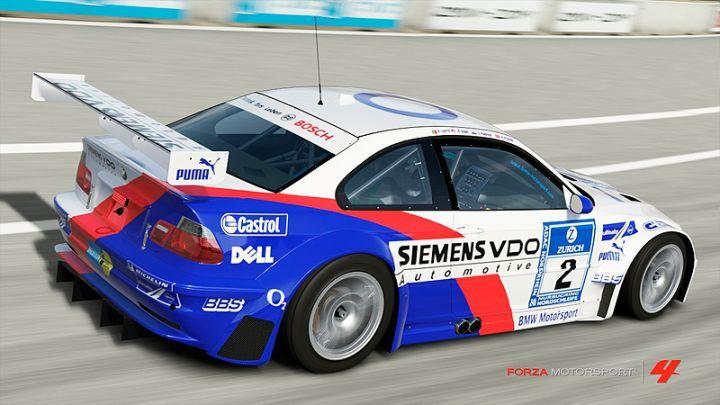 2005 Bmw M3 Gtr 2 Team Bmw Motorsport E46 In Forza Motorsport 4