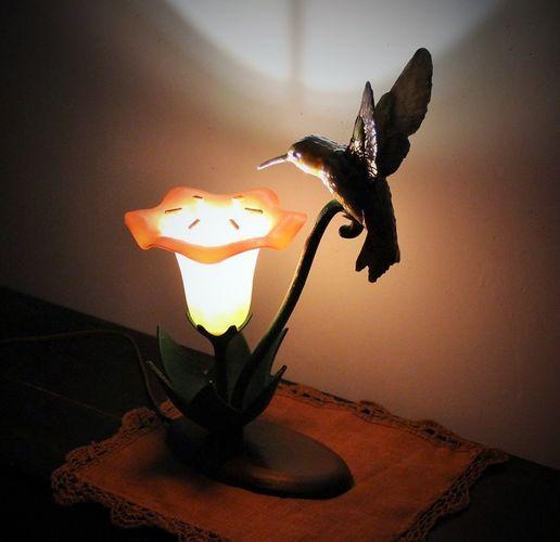 Hummingbird Lamp 3d Print Model 3d Printing Lamp Shades 3d Printable Models