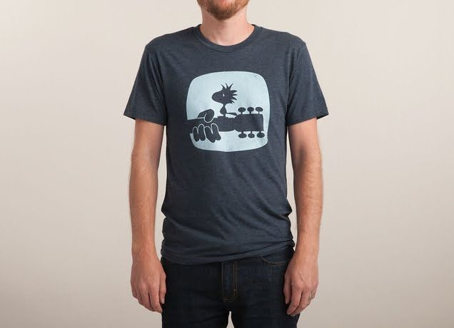 """Woodstock(s)"" by jeffrigby on men's t-shirts 