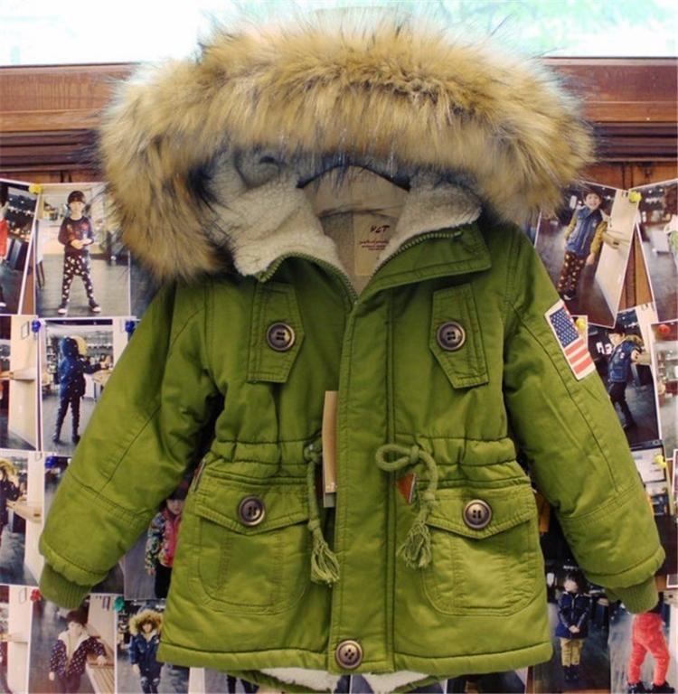 Parka Kurtka Jesien Zima Khaki Zolta Alaska 104 5667080176 Oficjalne Archiwum Allegro Kids Coats Kids Fashion Clothes Girls Down Coat