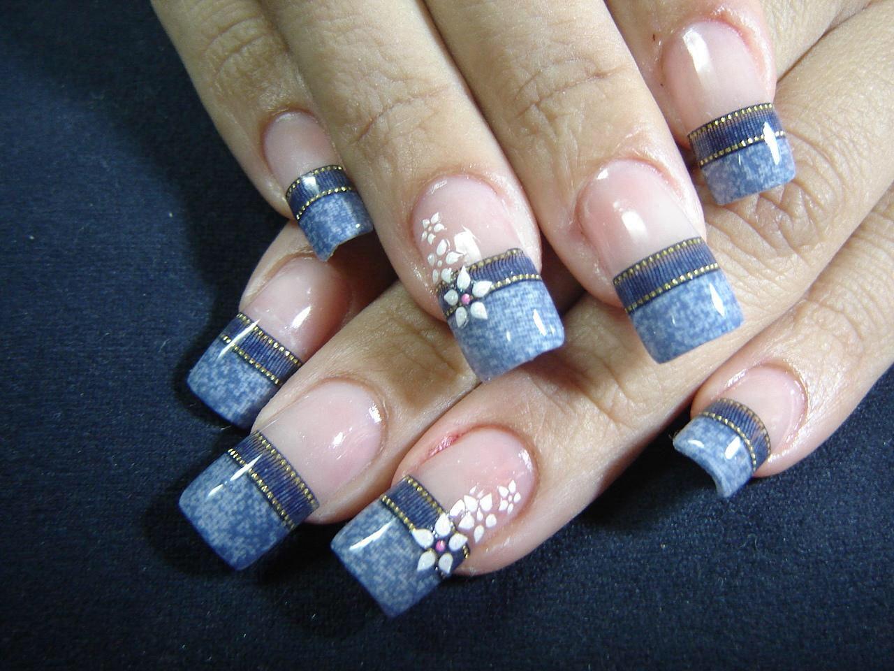 Jean Nail Art Nails Pinterest Style Nails