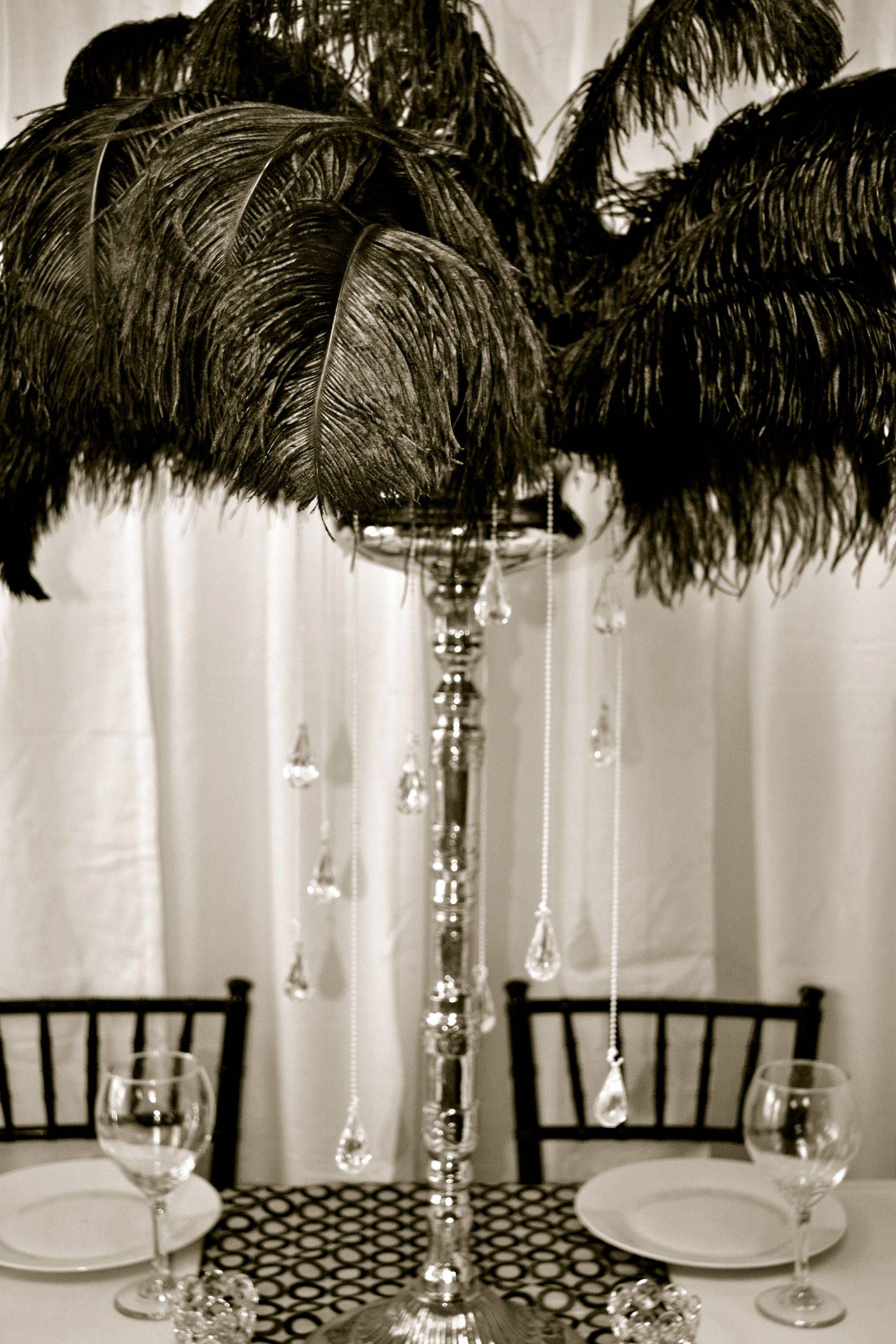 CENTERPIECE IDEAS on Pinterest | Ostrich Feather ... Quinceanera Table Settings