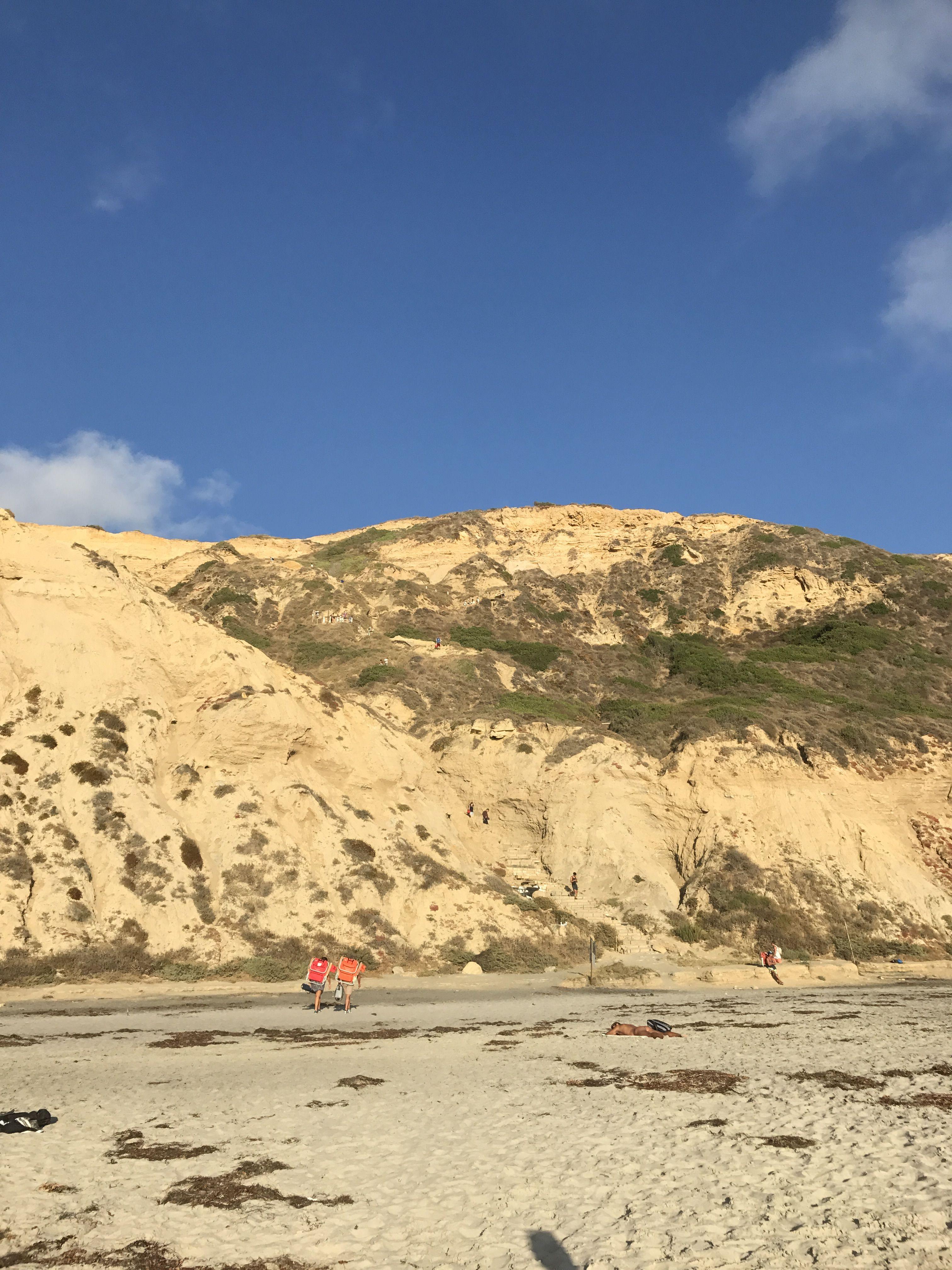 The secluded Blacks Beach - Latest in La Jolla