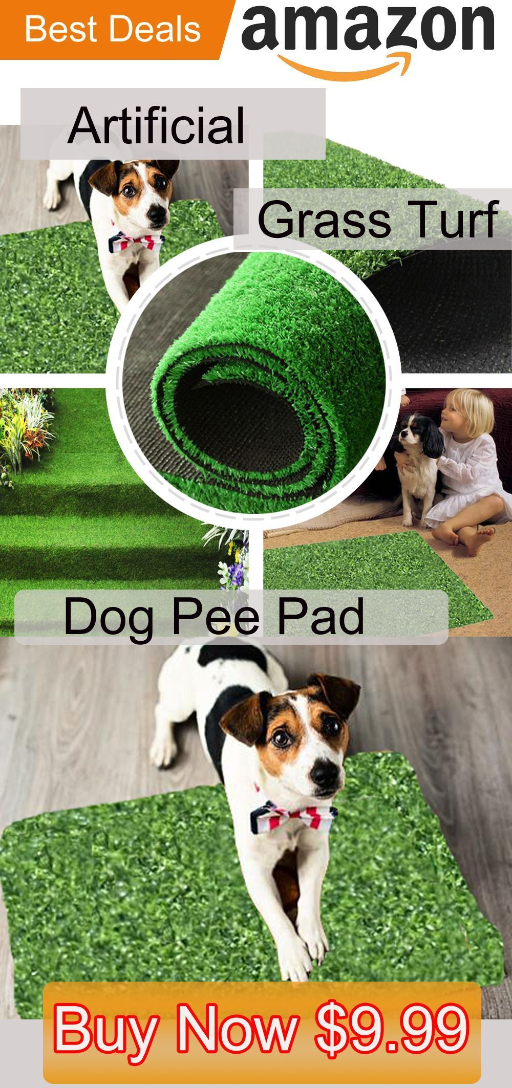 how to clean artificial grass from dog wee
