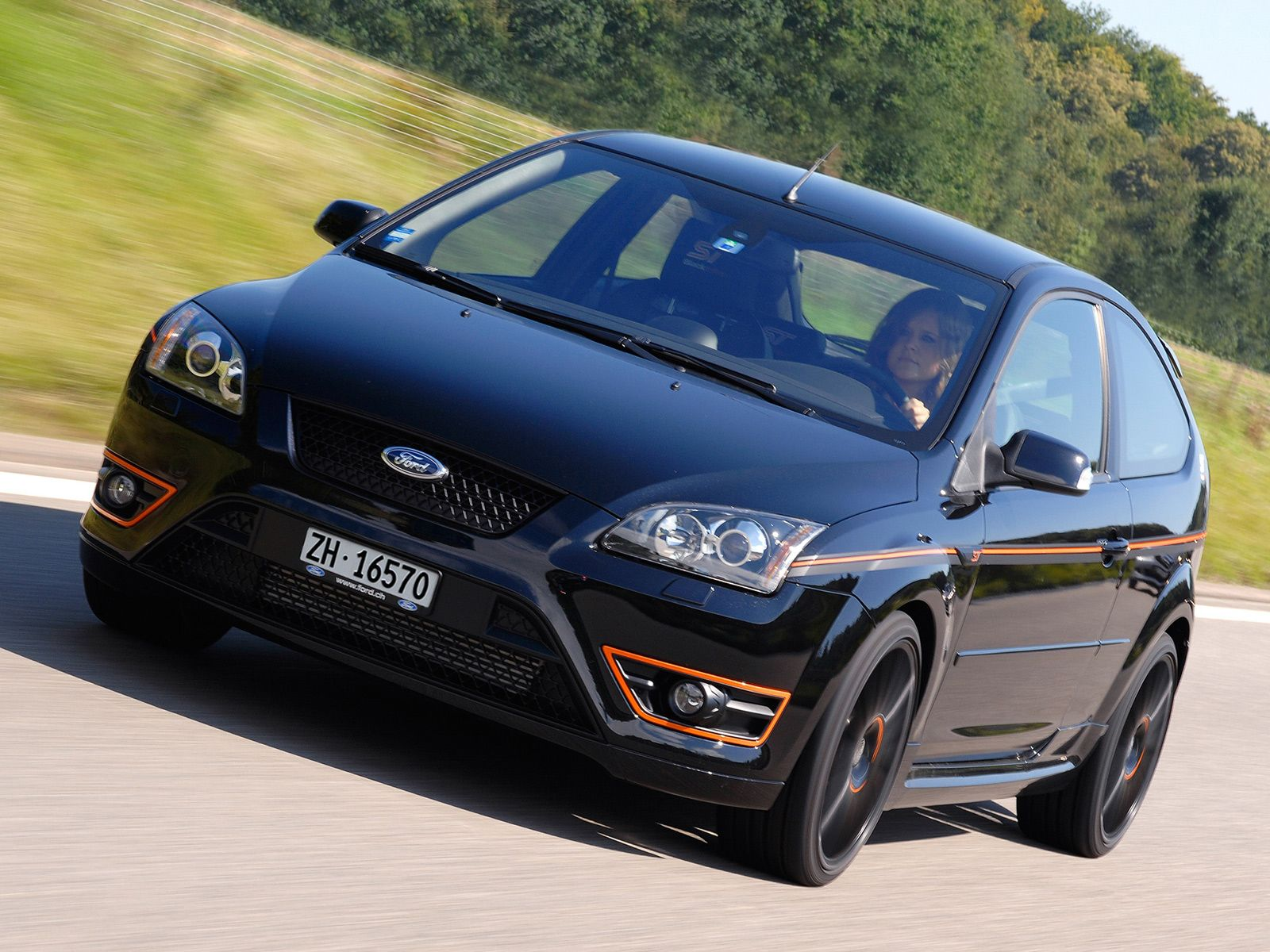 Ford Focus St 3 Door Black Edition 2007 Ford Focus St Ford