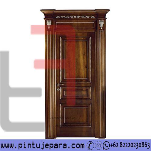 Classic Luxury Teak Wood Door PJ-244