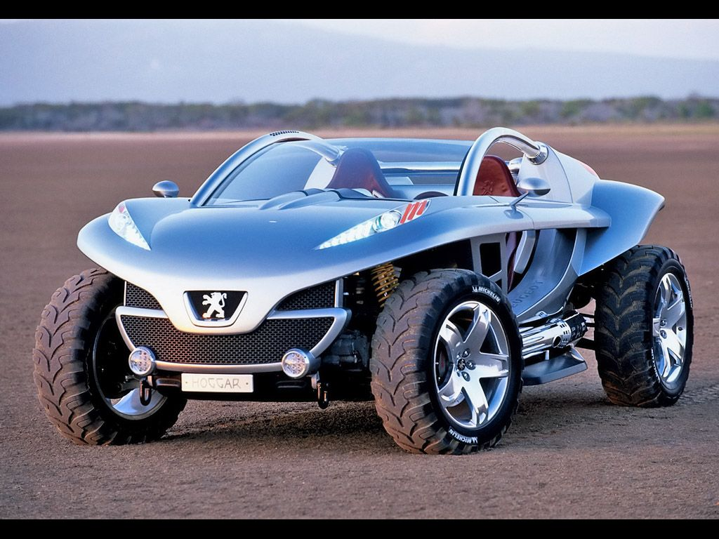 Cool car toys   Peugeot Hoggar Concept  Front Angle  Sunset  x
