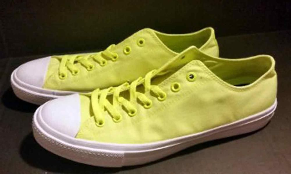 Converse Lunarlon Insole For Sale Converse Chuck Taylor Signature Ii Lunarlon Low Top Shoes Neon