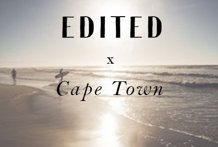 #EDITEDgirlsontour: Come with us to sunny Cape Town where we'll be shooting all of our summer 2016 editorials within the next weeks.