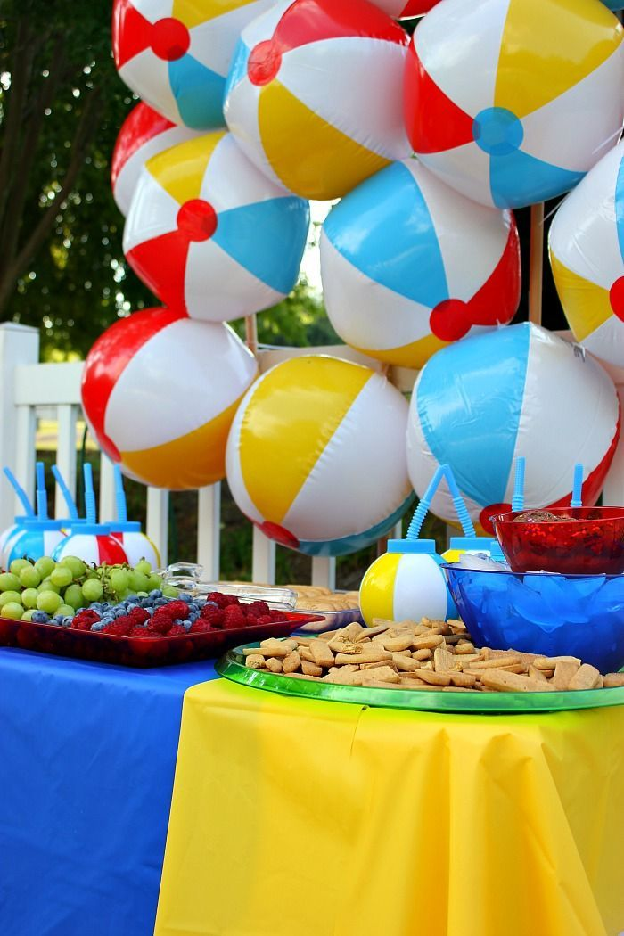 Have A Ball Summer Party Beach Ball Party Summer Party