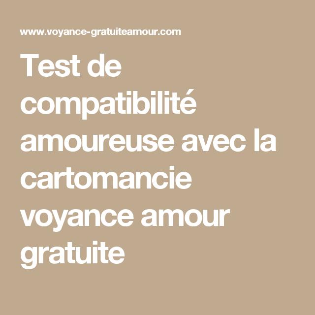 Test de compatibilité amoureuse avec la cartomancie voyance amour gratuite  Tarot Amour, Voyance Amour, 7c19c7600e52