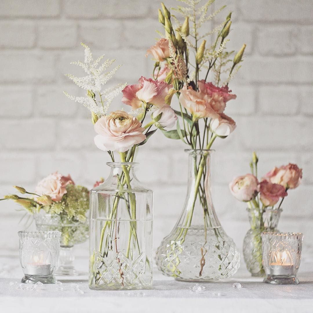 Flower Vases For Weddings: Wedding Ideas (@weddingideas) • Instagram Photos And