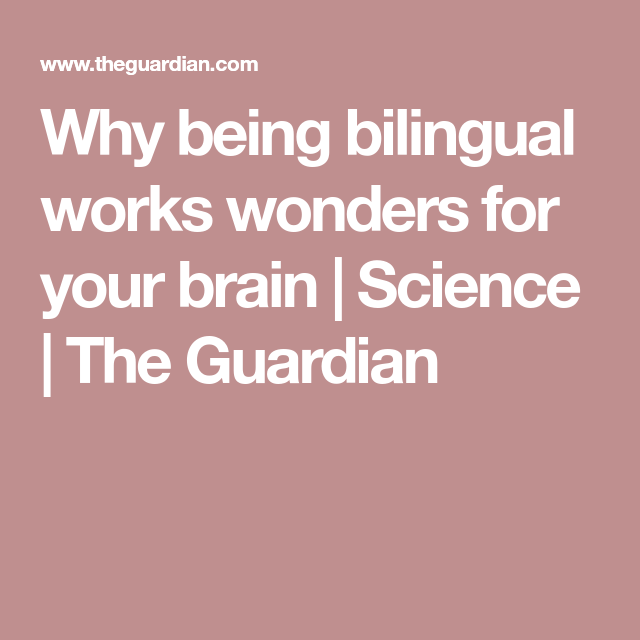 an essay on the truth behind being bilingual The task of writing arguments requires a linguistic and cognitive sophistication that eludes many adults, but students in the us are expected to produce texts that articulate and support a claim—simple written arguments—starting in the fourth grade students from language-minority homes likewise.