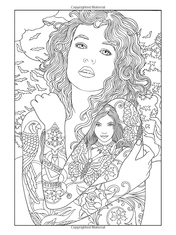 Body Art Tattoo Designs Coloring Book Dover Paperback Designs Coloring Books Coloring Books Tattoo Coloring Book