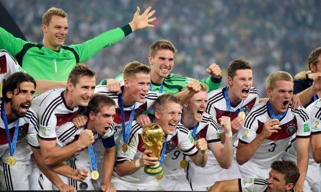 Deutschland Ist Fussball Weltmeister 2014 Wm Final