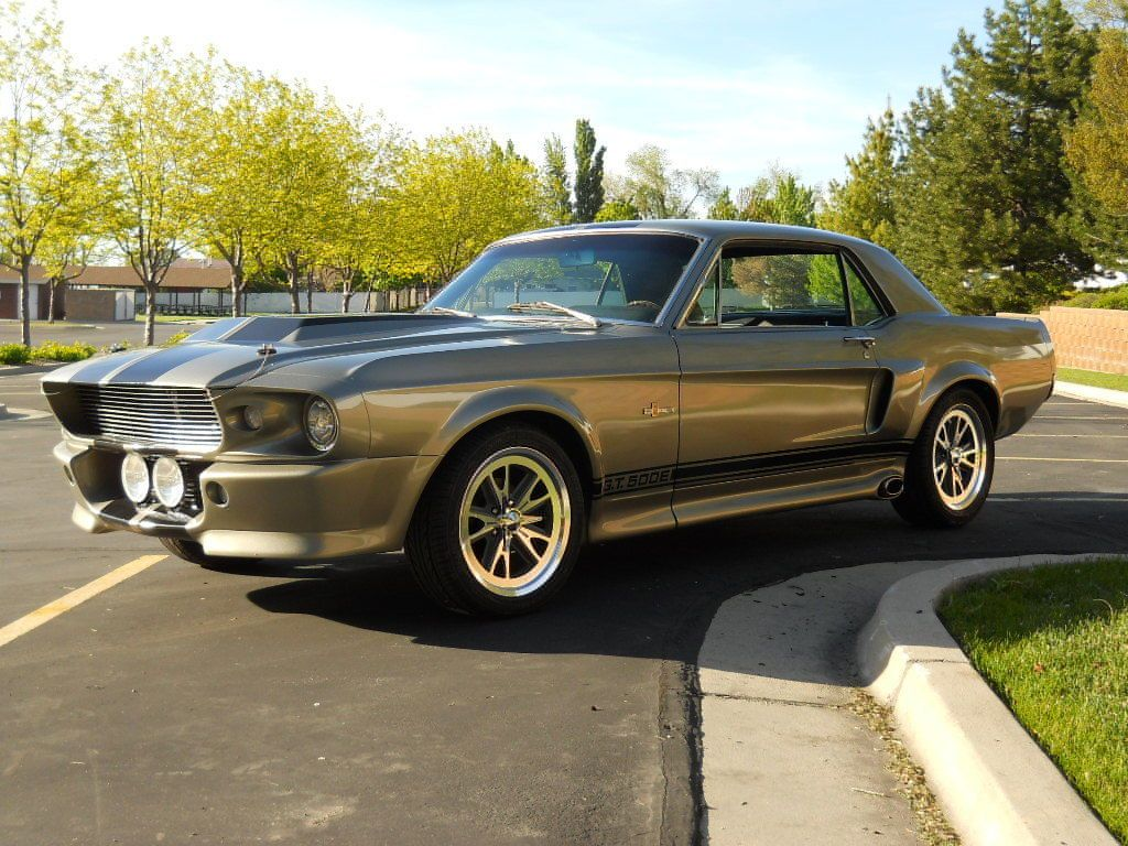 1967 Ford Mustang Completely Restored Eleanor Mustang Coupe With