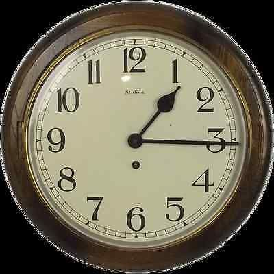 #1940's bentima #round wall dial school #clock,  View more on the LINK: 	http://www.zeppy.io/product/gb/2/291269872414/