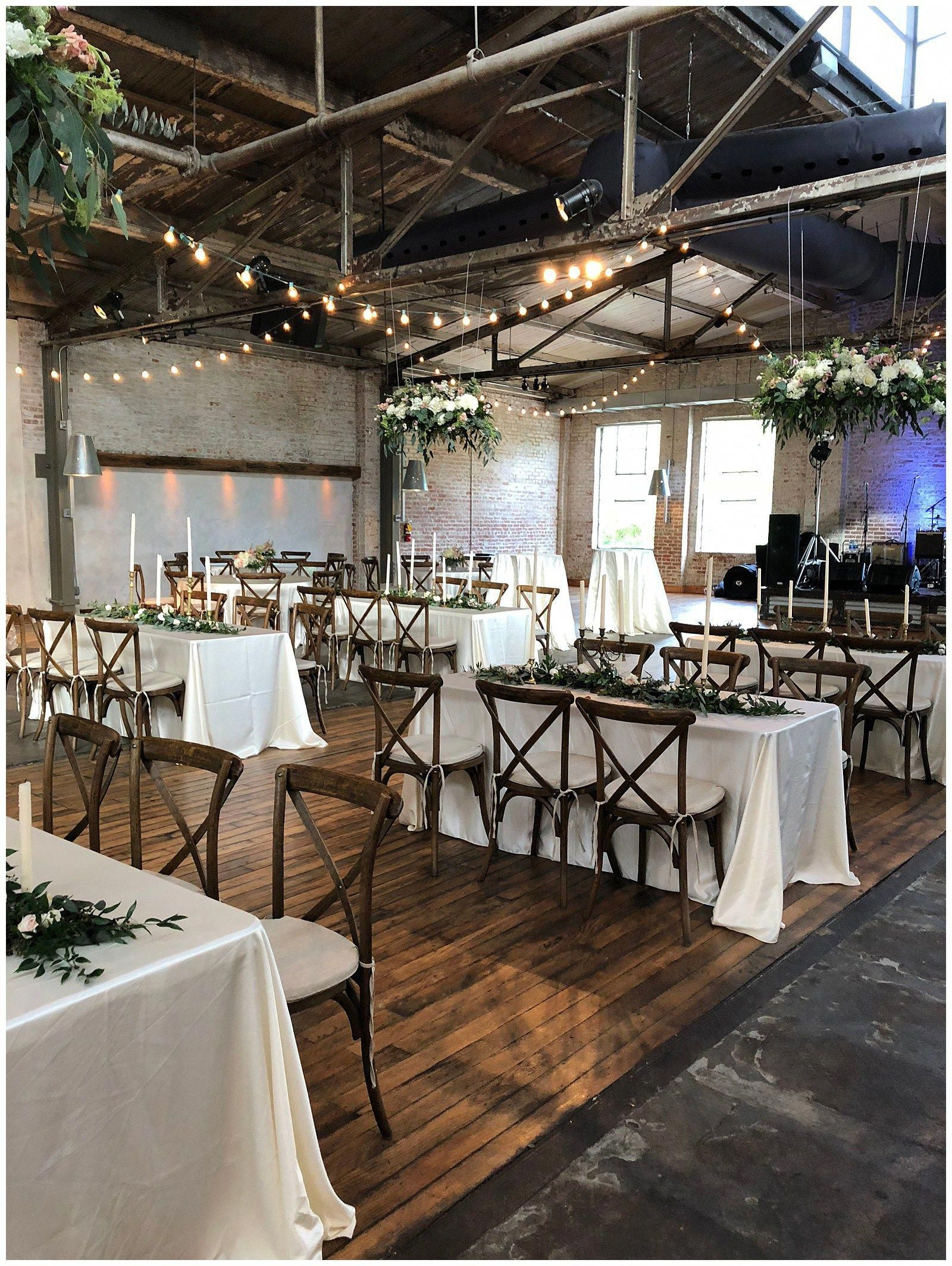 Hattiesburg ms wedding the venue at the bakery building