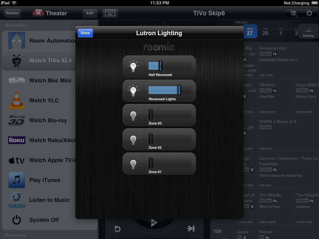 ipad lighting control roomie remote ui pinterest remote