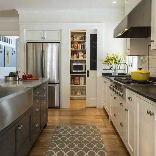 Best Galley Kitchen Design Ideas & Remodel Pictures ...