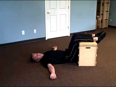 Egoscue - 3 Easy E-cises to change the way you feel.  Static Back, Arm circles, and Air Bench.