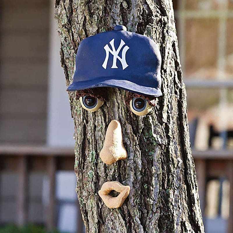 New York Yankees Forest Face Outdoor Trees New York Yankees Outdoor