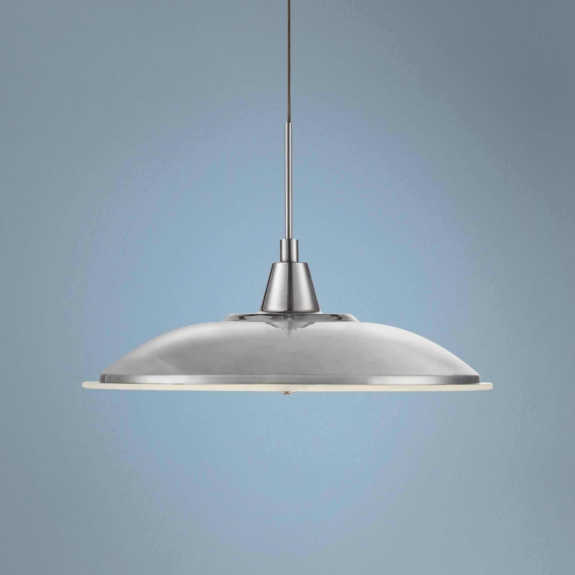 Chrome Saucer 11 Wide LED Pendant Light -   Kitchen   Pinterest ...