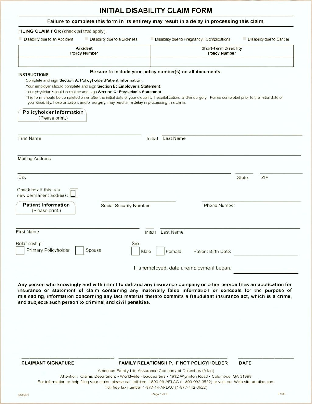 Pdf Life Insurance Policy Form - INSURANCE DAY