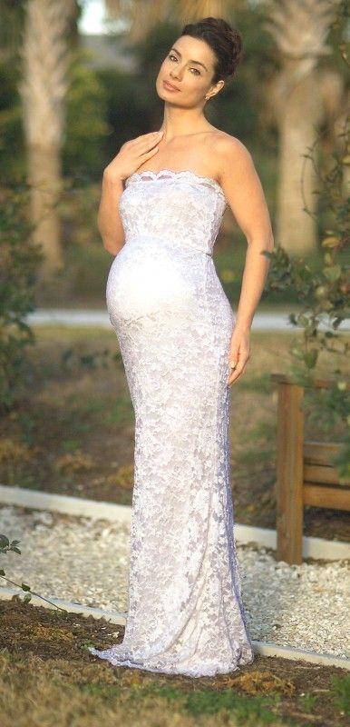 Stunning Wedding Dresses for Pregnant Brides - Wedding Planning