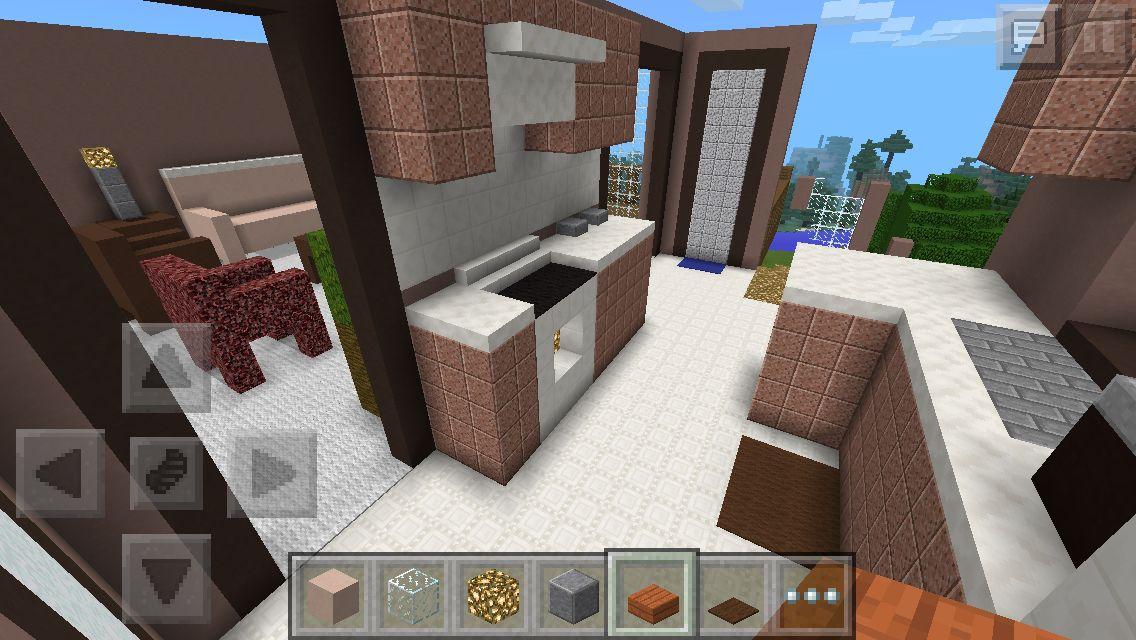 Minecraft Pe Kitchen Minecraft Kitchen Ideas Minecraft House