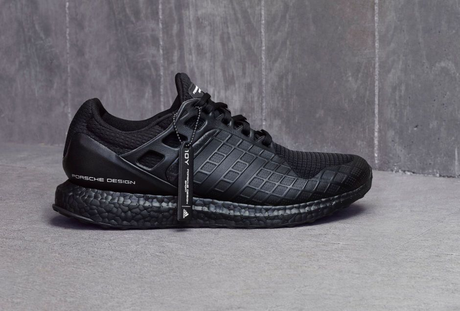Porsche Design Sport by adidas unveils Limited Edition All Black UltraBOOST  - Freshness Mag c9b209f4b