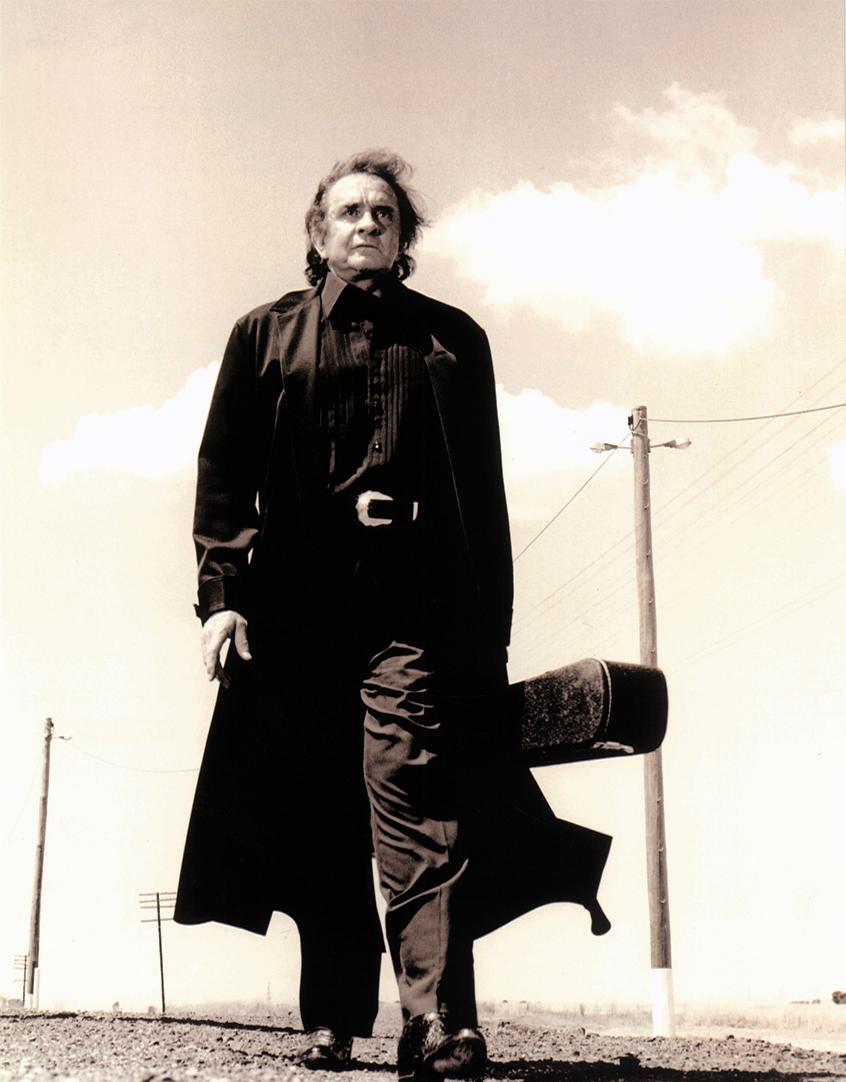 "Poster Finger 36/"" x 24/"" Johnny Cash Wide NEW"