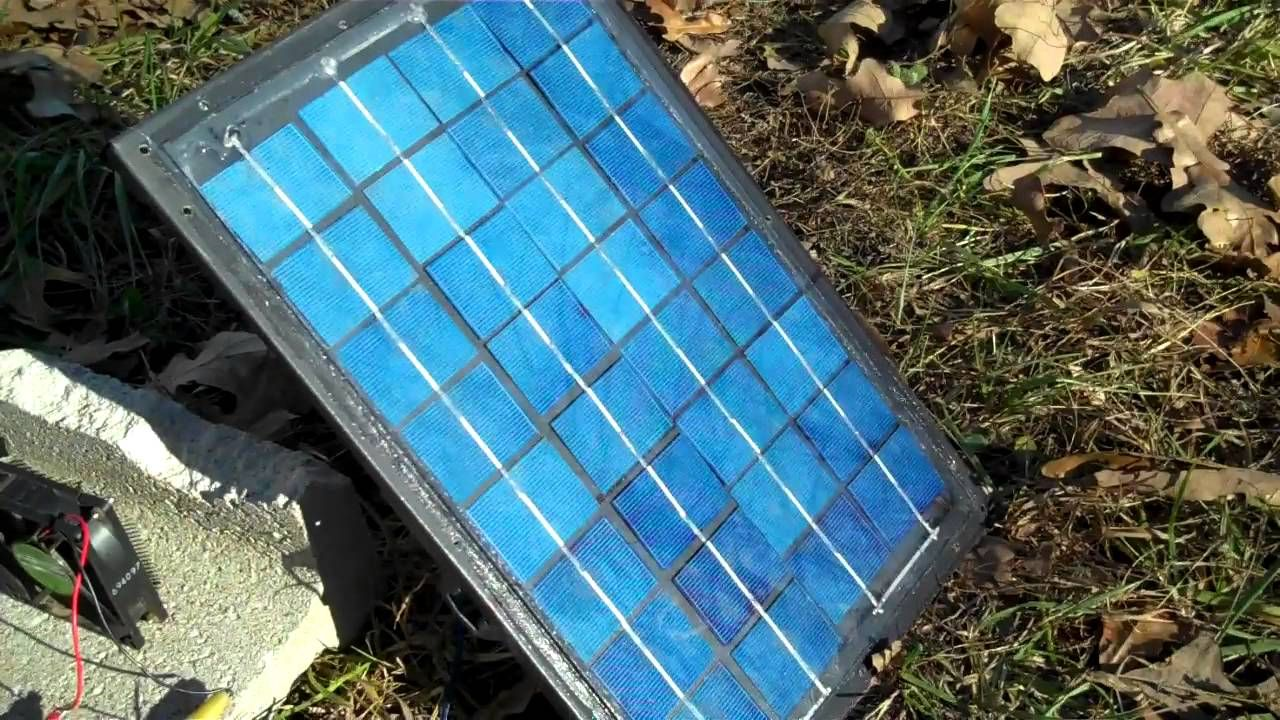 How To Build A Solar Panel For Free Homemade Solar Panels Solar Panels Solar