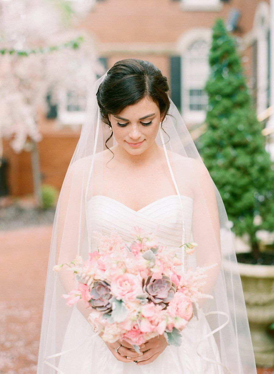 love this Bride's #classic #romantic style Photography: Jodi Miller Photography - www.jodimillerphotography, Florals by http://www.petalsedge.com/  Read More: http://stylemepretty.com/2013/10/22/virginia-garden-wedding-from-jodi-miller-photography/