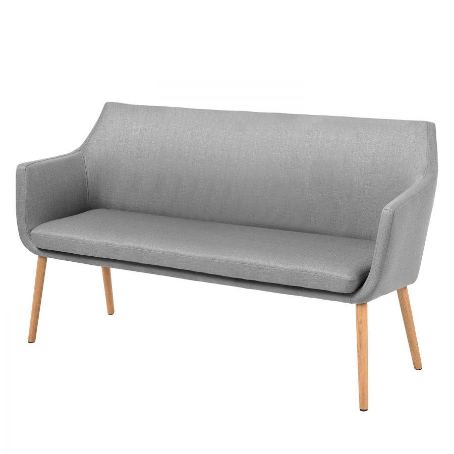 Sofabank nicholas ii webstoff hellgrau einrichtung esstisch u bank m bel esstisch for Sofabank esszimmer