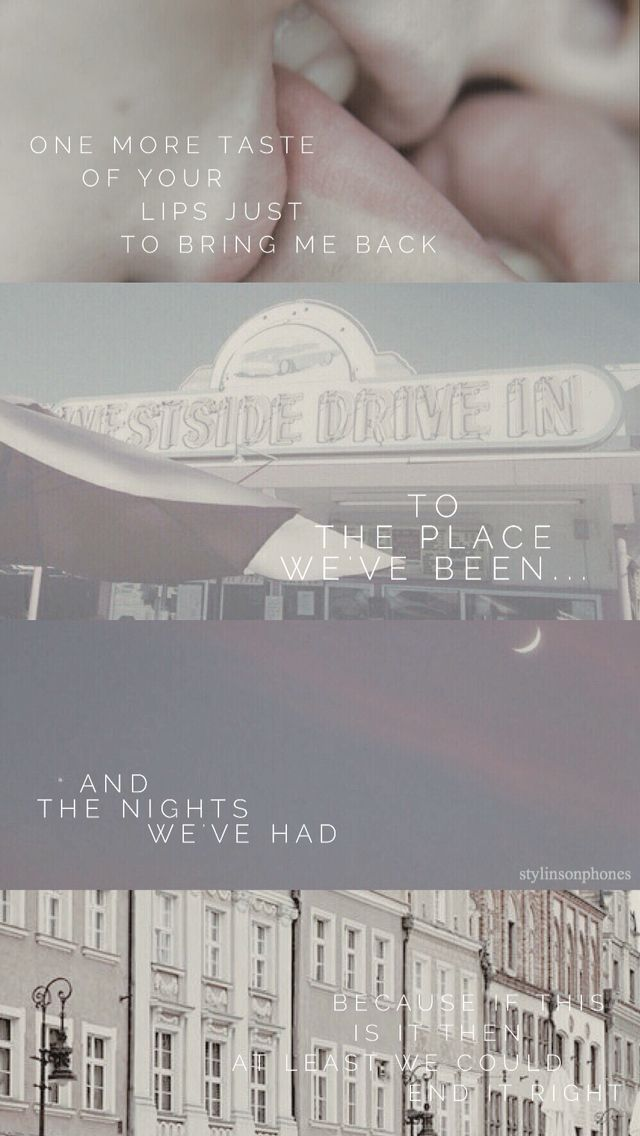 I love you and goodbye lyrics