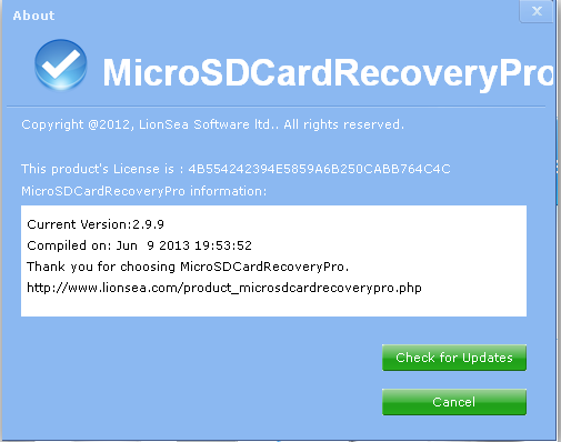 Card Recovery Pro 2 6 5 Crack With License key free download