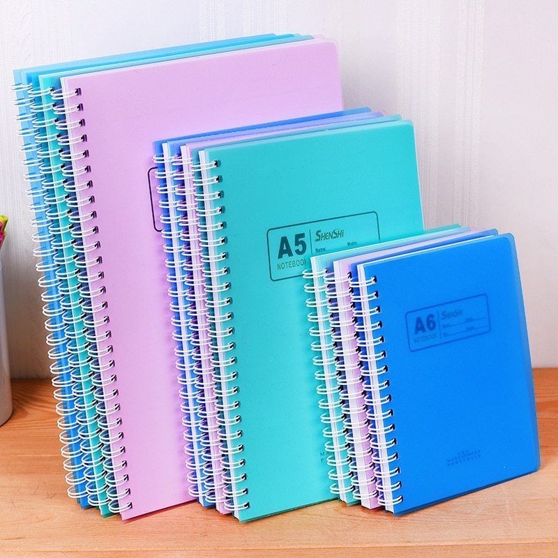 A7 A6 A5 B5 Spiral Book Coil School Office Line Notebook Papers