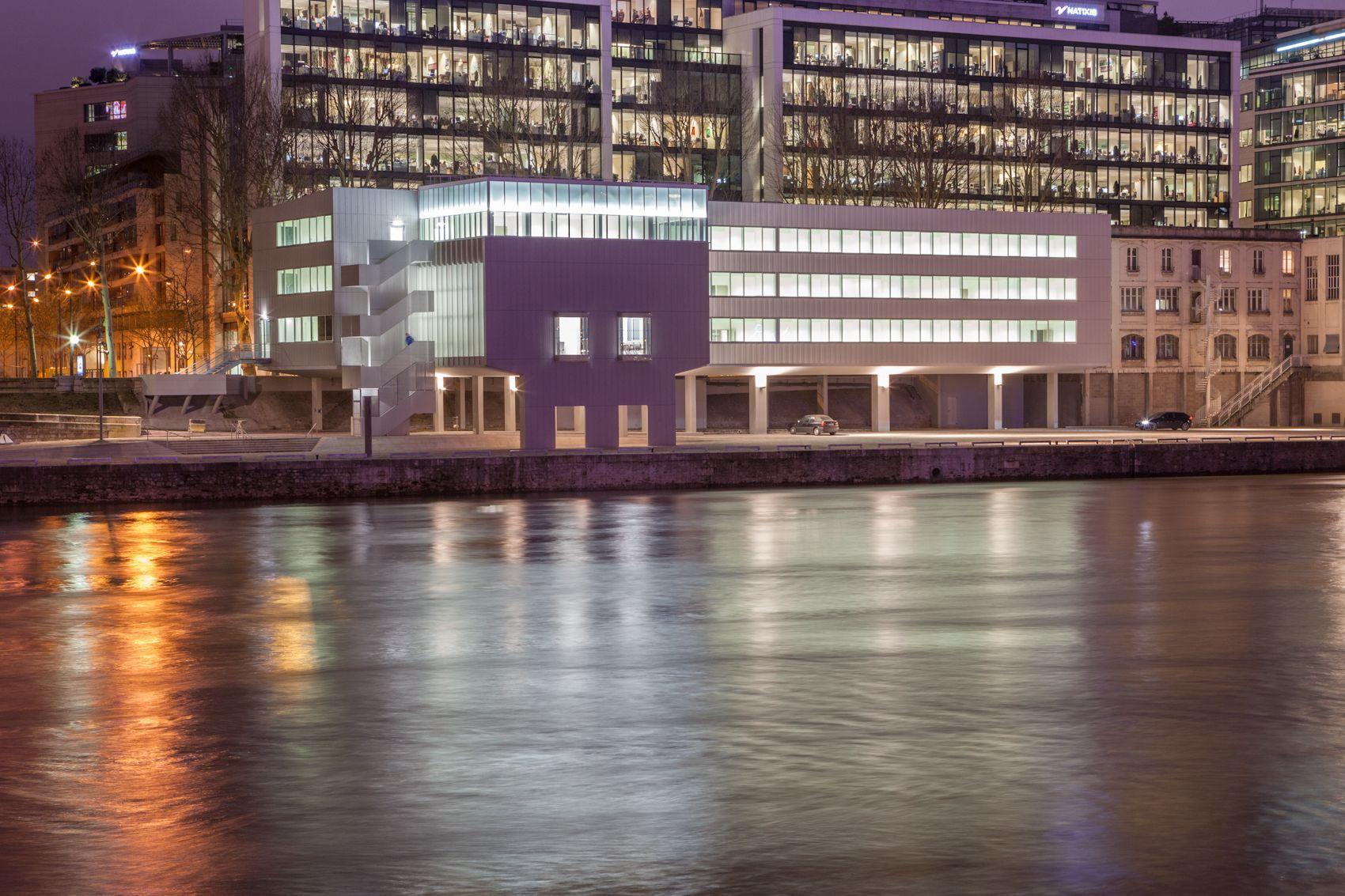 © 11h45 / Maison de la Batellerie, Paris (75) - JB Lacoudre Architecture