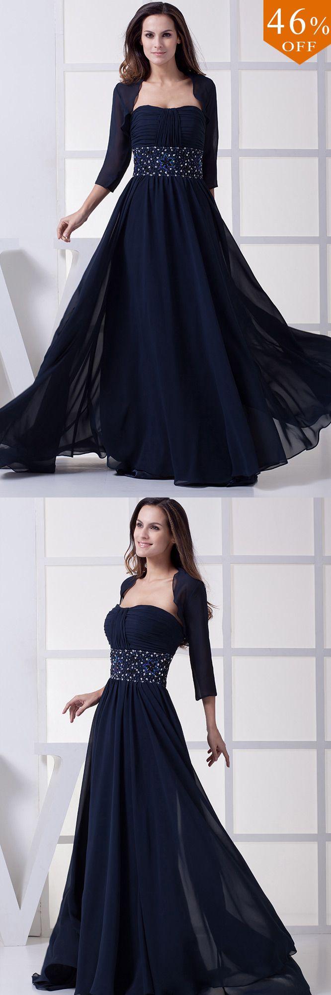 [$169.90] Navy Blue Elegant Mother of the Bride Dresses ...