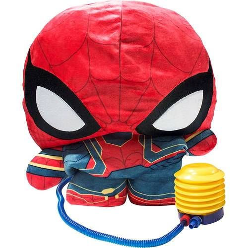 """Marvel Infinity Wars Spider Man Inflate-A-Hero Plush Super Hero Toy 30/"""""""
