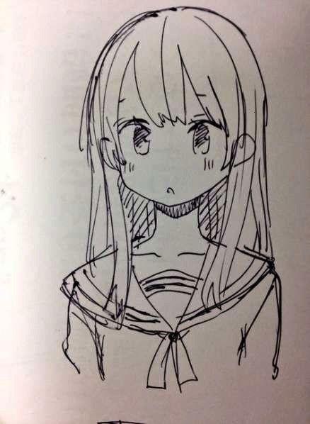 Drawing Simple Sketch Anime Ideas Art 44art Simple 44 Ideas
