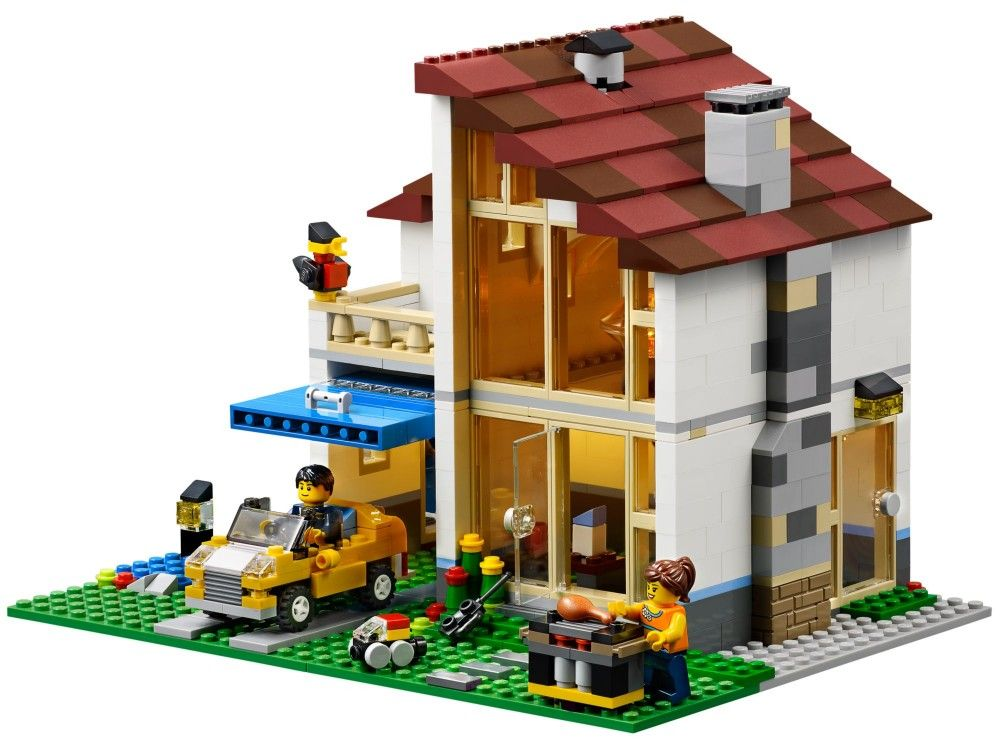 LEGO Creator Family House Discontinued by manufacturer 31012