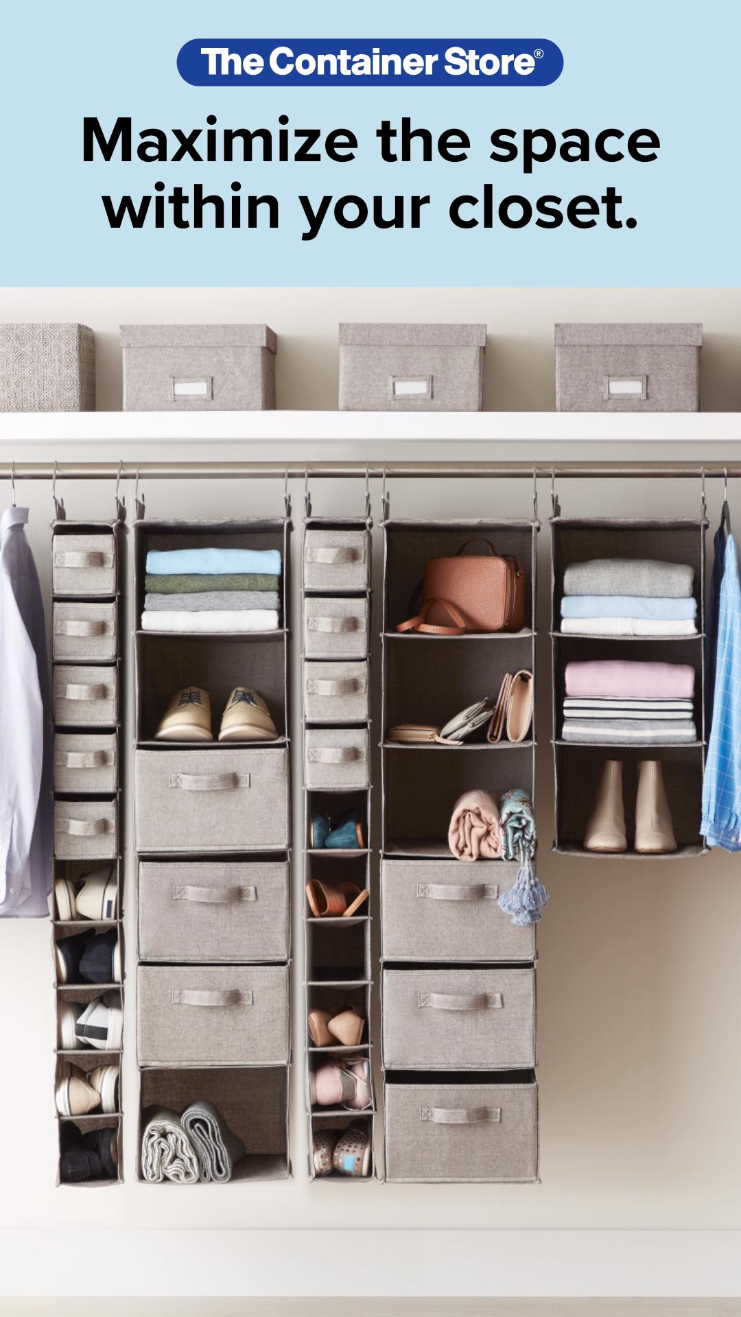 Hanging Closet Organizers -   19 the home edit organization closet ideas