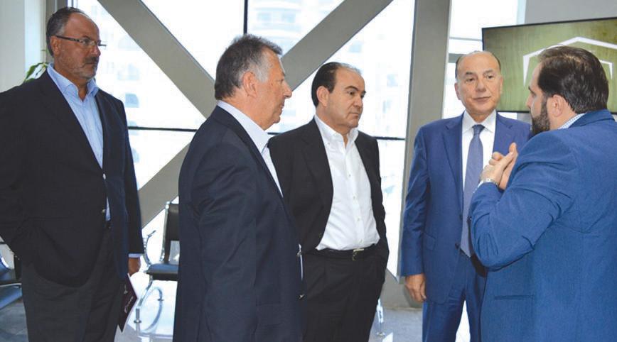 سعدي غندور نقف إلى جانب مبادرة طرابلس عاصمة لبنان الإقتصادية وندعمها Suit Jacket Single Breasted Suit Jacket Jackets