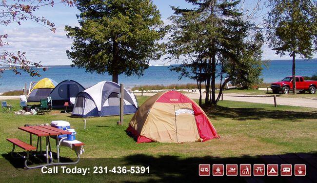 Tee Pee Campground Mackinaw City Mi Michigan Road Trip Mackinaw City Mackinaw