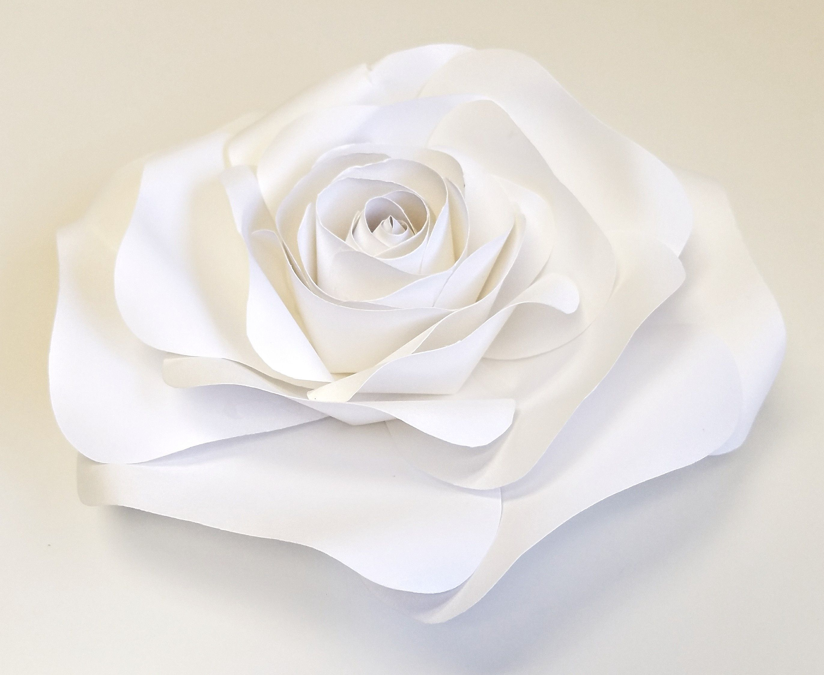 Handmade wedding decorations paper  Handmade Giant Paper Flower  cm  inch White  Products