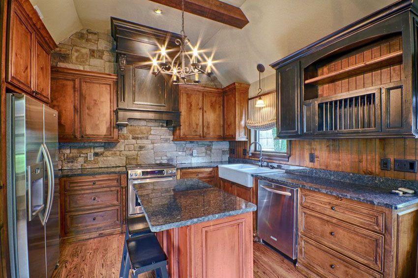 35 Beautiful Rustic Kitchens (Design Ideas) New kitchen