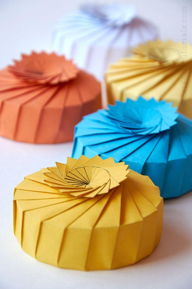 Lily Pad Origami Box