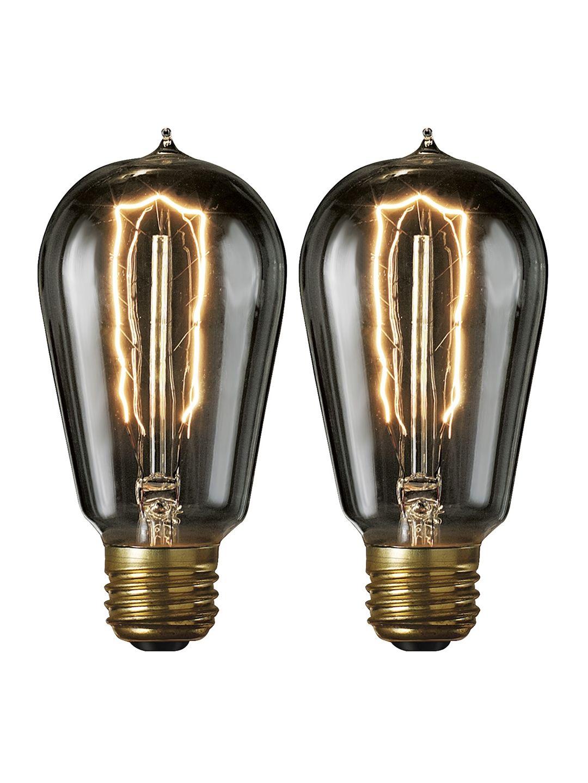 Nostalgic Smoke Edison Bulb Set Of 2 By Bulbrite At Gilt